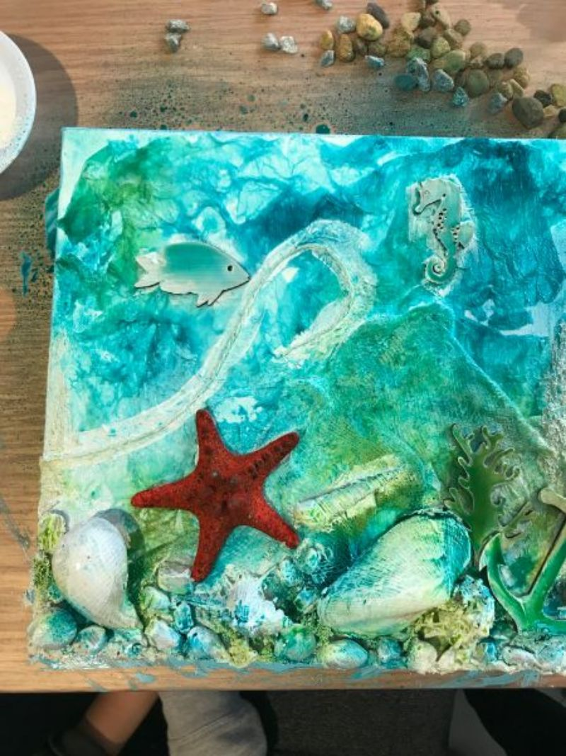 marine life mixed media on canvas.jpg